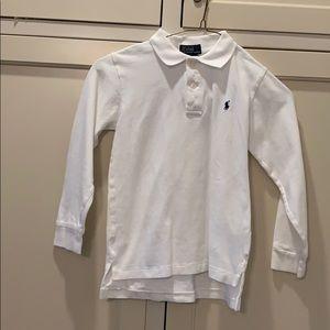 Boys Pique Long Sleeve Polo 7